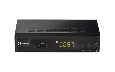 DVB-T2 set-top box Emos EM170 HD