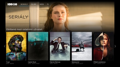 Online videotéka HBO Go | Recenze, vlastnosti a srovnání