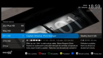 Sledujte Televizi Přes Digi2go Recenze Vlastnosti A Srovnání